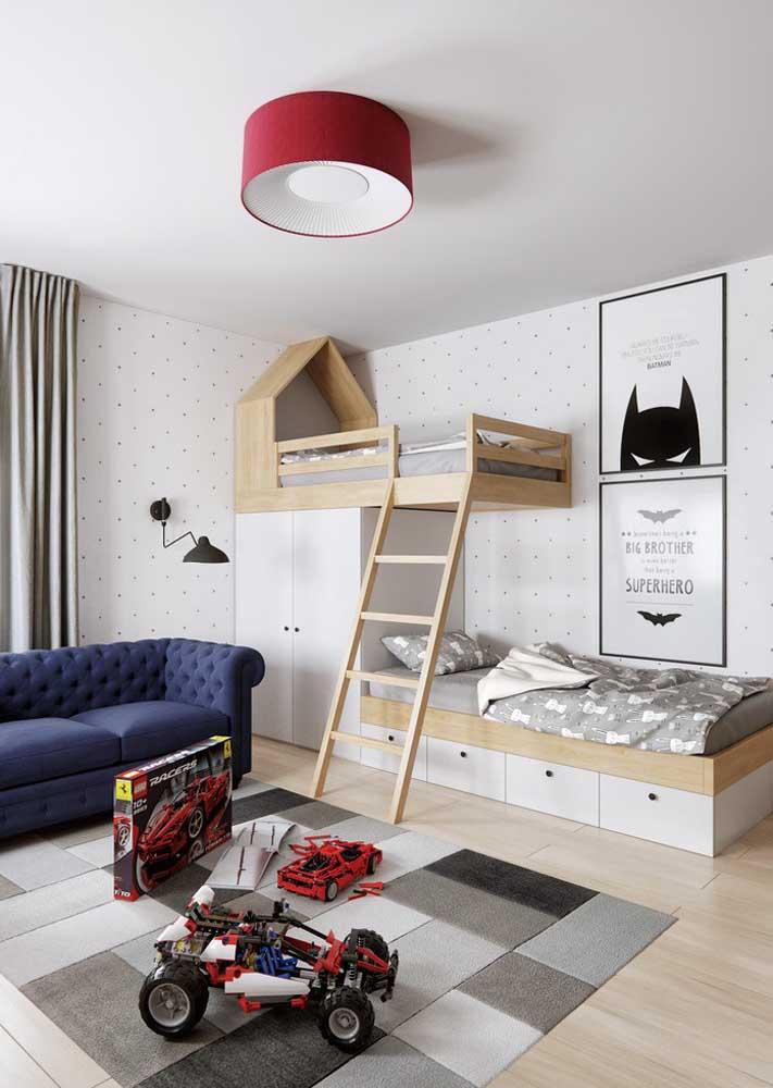 Móveis planejados para quarto infantil com tudo o que as crianças mais sonham