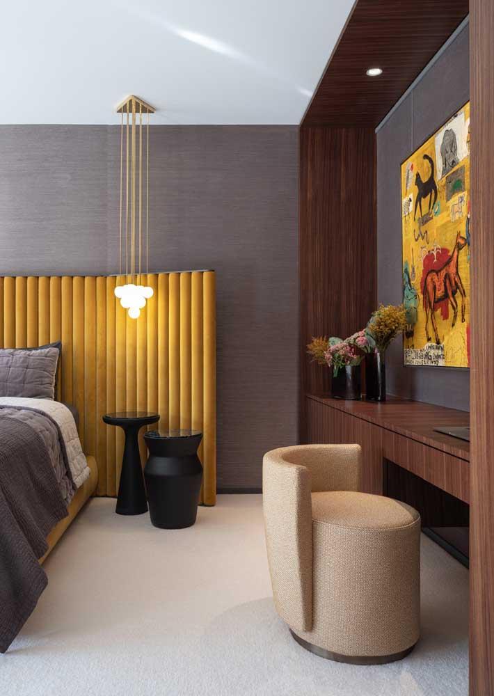 Móveis planejados para quarto com estilo e personalidade