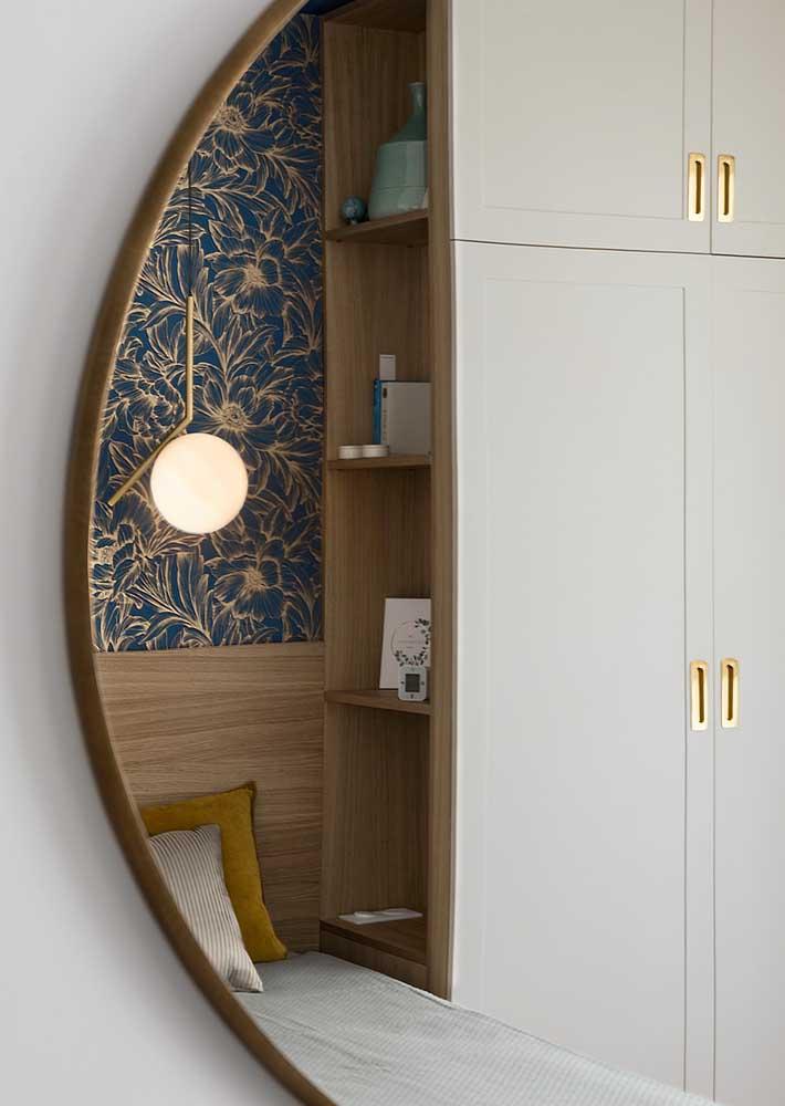 Personalize os móveis planejados para quarto como quiser, desde a cor até o modelo dos puxadores