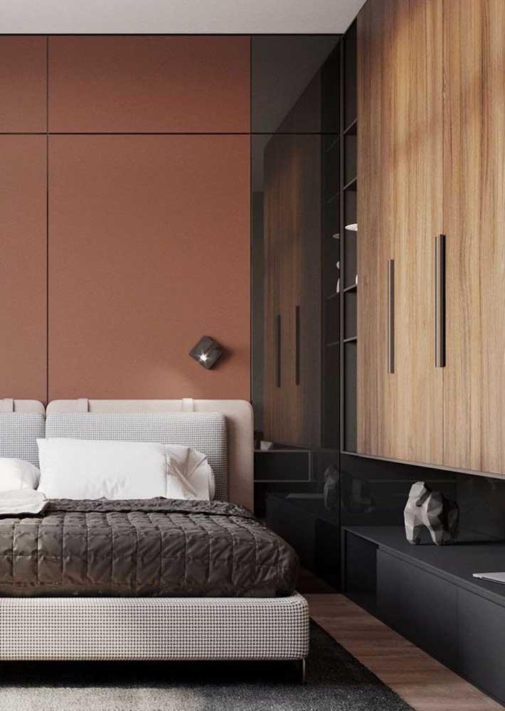Escolha as cores dos móveis planejados para quarto de acordo com o estilo que você pretende dar ao ambiente