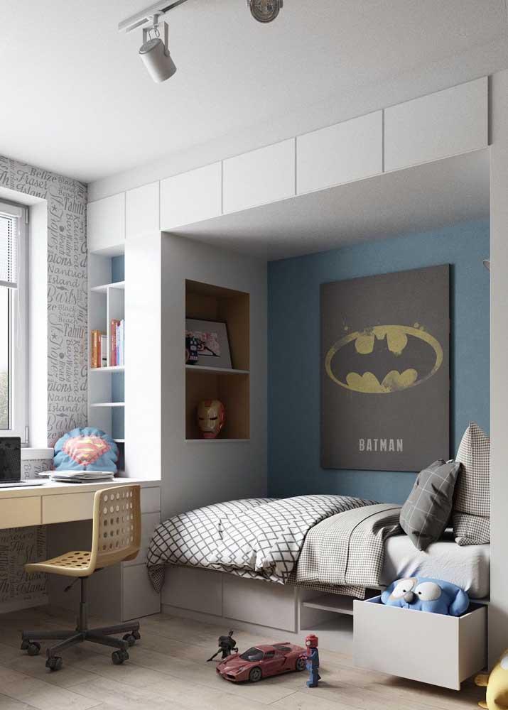 Móveis planejados para quarto infantil: soluções inteligentes de armazenamento